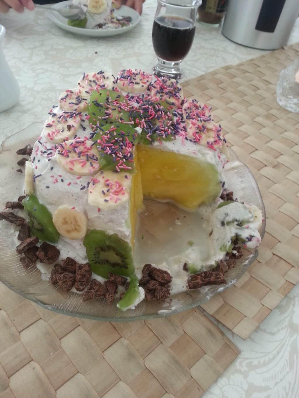 Sund alternativ lagkage – lavet på en melon :)