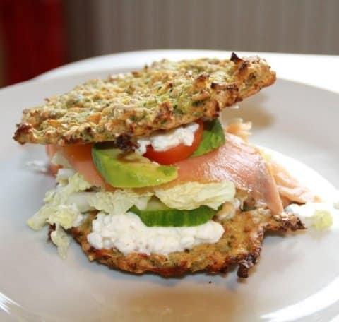 Lakse sandwich