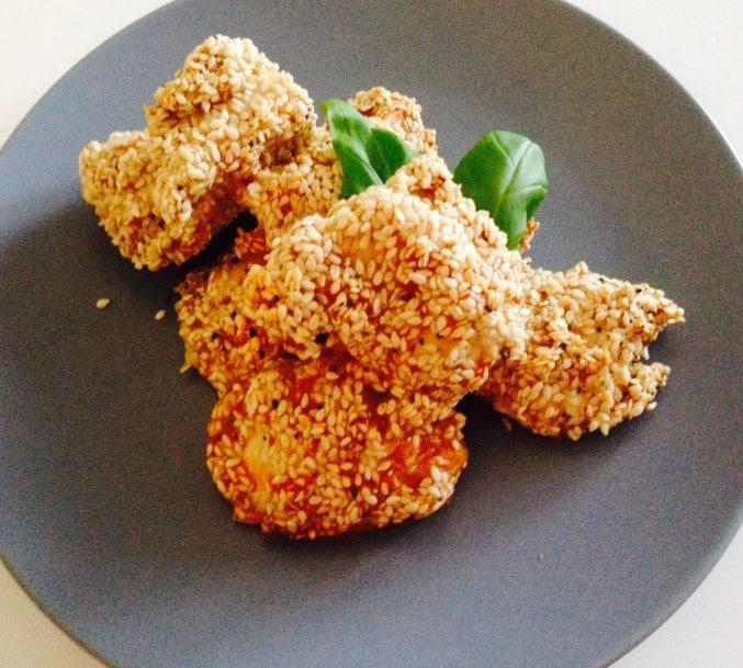 Kyllingenuggets på en sundere måde