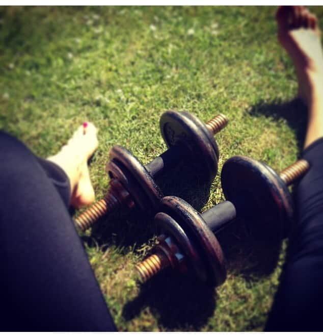 Udendørs træning!