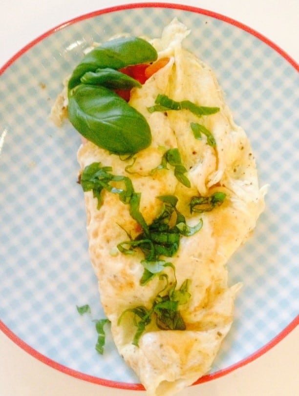 Omelet – Ca. 180 kcal