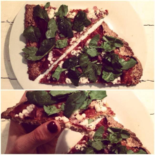 Glutenfri pizza med sprød bund!