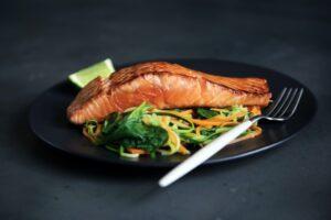 Fordeling af mad ved vægttab - laks