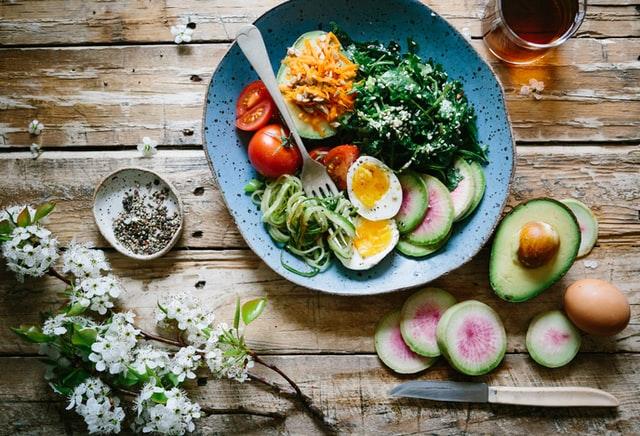 Fordeling af mad ved vægttab